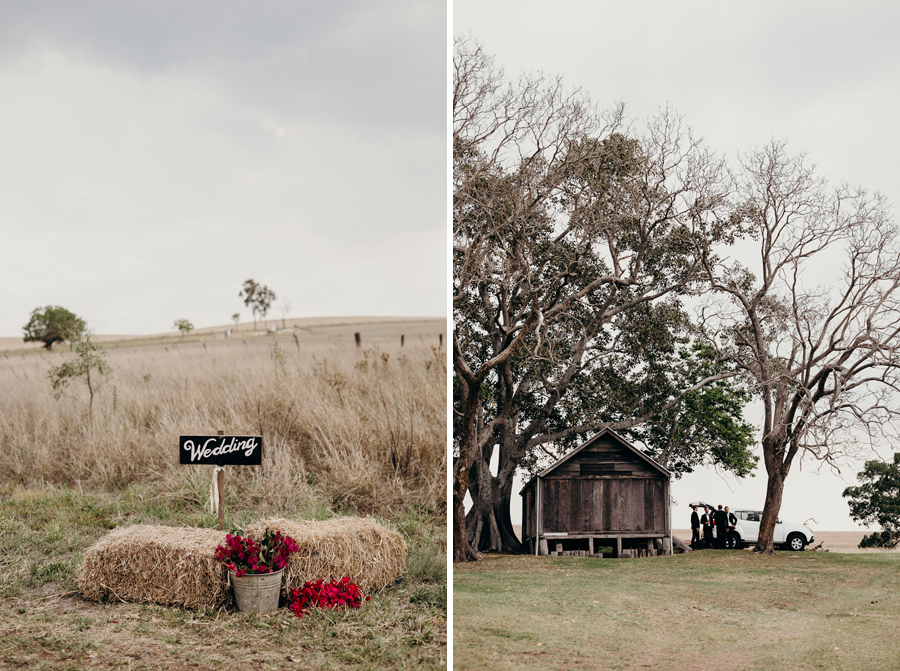 Coronation Hall Wedding Photographer Somerset Dam Bebes Farmhouse Photography Queensland Rustic Country DIY Wedding _0018