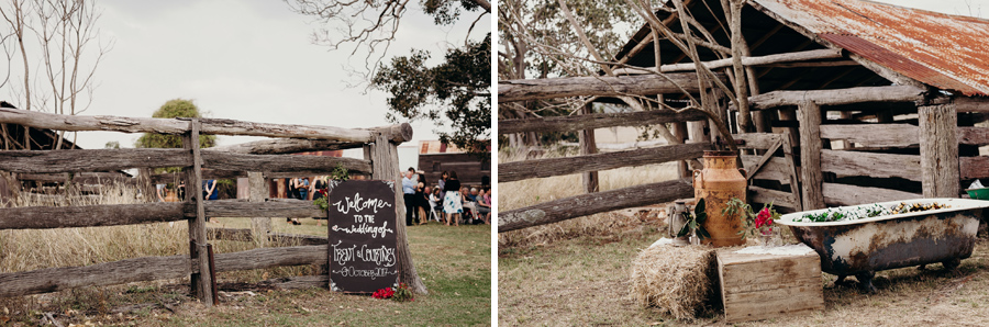 Coronation Hall Wedding Photographer Somerset Dam Bebes Farmhouse Photography Queensland Rustic Country DIY Wedding _0019