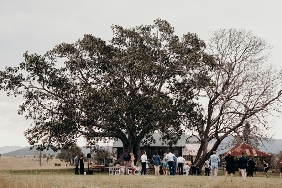 Coronation Hall Wedding Photographer Somerset Dam Bebes Farmhouse Photography Queensland Rustic Country DIY Wedding _0020