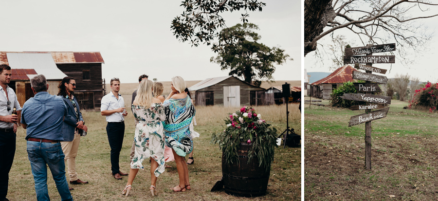 Coronation Hall Wedding Photographer Somerset Dam Bebes Farmhouse Photography Queensland Rustic Country DIY Wedding _0021