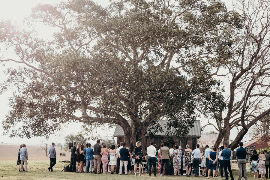 Coronation Hall Wedding Photographer Somerset Dam Bebes Farmhouse Photography Queensland Rustic Country DIY Wedding _0029