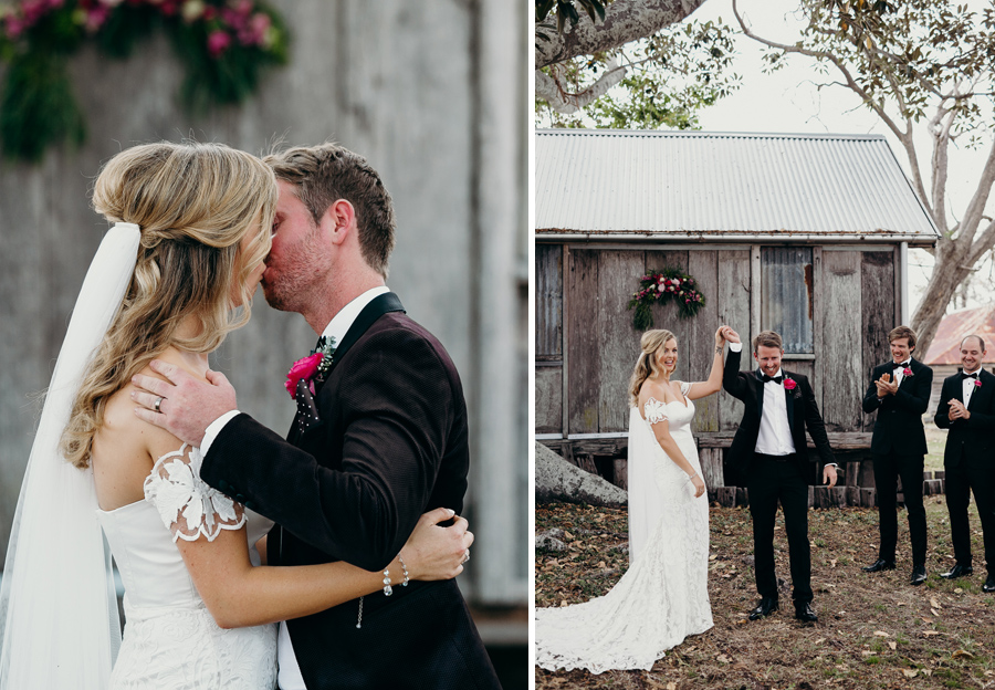 Coronation Hall Wedding Photographer Somerset Dam Bebes Farmhouse Photography Queensland Rustic Country DIY Wedding _0030
