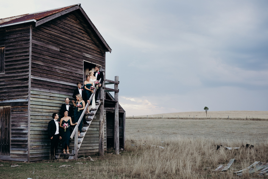 Coronation Hall Wedding Photographer Somerset Dam Bebes Farmhouse Photography Queensland Rustic Country DIY Wedding _0045